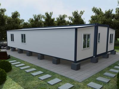 extended foldable prefab container homes