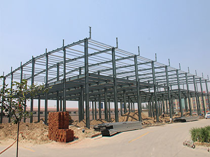 Chile two-storey steel warehouse building